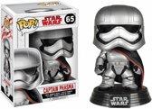 Funko Pop! Bobble: Star Wars: E8 Tlj: Captain Phasma - Verzamelfiguur