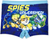Nickelodeon- Paw Patrol - Kinder /Peuter/Kleuter - zwembroek / zwemboxer - blauw - Spies unleashed -  Maat 98 ( 3 jaar)