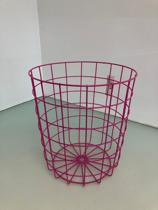 Draadmand - roze