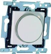 NIKO Original White inbouw drukknop transparante met LED