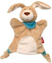 sigikid knuffeldoekje handpop konijn 41953