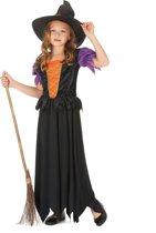 Lang heksenkostuum voor meisjes - Verkleedkleding - 122/128