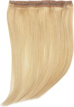 Remy Human Hair extensions Quad Weft straight 22 - blond 16#