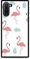 Galaxy Note 10 Hardcase hoesje Flamingo Pattern