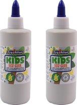 2 X kinderen lijm - eco lijm - waterbasis lijm - knutselen lijm 200ml