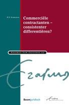 Erasmus Law Lectures 44 - Commerciële contractanten – consistenter differentiëren?