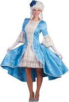 Middeleeuwen & Renaissance Kostuum | Rococo Calciano Jurk Vrouw | Maat 44-46 | Carnaval kostuum | Verkleedkleding