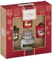 Yankee Candle Alpine Christmas 1 Small Jar & 3 Votive