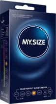 My Size - Natural Latex Condom 57 Width - 10 st.