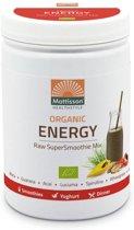 Mattisson Supersmoothie Mix Energy Bio - 300 gram - Maaltijdvervanger