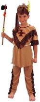 Indianen jongen kostuum 122-128