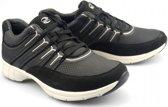 Gabor sport series 74.352.17 zwart mesh/nubuck sneaker