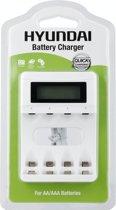 Hyundai - Batterij oplader - Snellader - 4 x AA en AAA