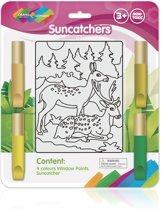 Raamschilderen Hert