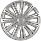Car Plus Wieldoppen Alabama 13 Inch Abs Zilver Set Van 4