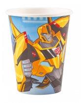 Transformers RID Bekers Karton 266ml 8 stuks