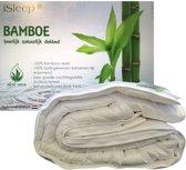 iSleep Bamboo DeLuxe 4-Seizoenen Dekbed - 100% Bamboe - Litsjumeaux - 240x220 cm