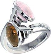 Bliss - Bliss ring met kleurstenen en diamant