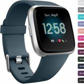 123Watches.nl Fitbit versa sport band - leisteen - ML
