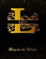 Leia Learn To Write