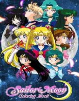 Sailor Moon Coloring Book: Coloring Book for Kids and Adults with Fun, Easy, and Relaxing Coloring Pages (Coloring Books for Adults and Kids 2-4