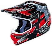 Troy Lee Designs Crosshelm Air Starbreak Black-L