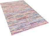 Beliani BELEN - Vloerkleed - Meerkleurig - Polyester
