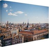 Het centrum van Madrid Canvas 30x20 cm - Foto print op Canvas schilderij (Wanddecoratie)