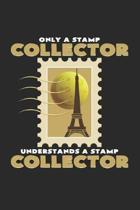 Stamp collector: 6x9 Collecting - lined - ruled paper - notebook - notes