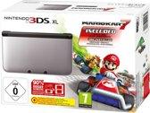 Nintendo 3DS XL + Mario Kart 7 (Zwart / Zilver)