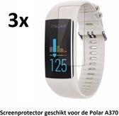 Screenprotectors voor de Polar A370 | 3 stuks