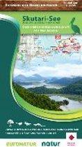 Natur-Landkarte 1 : 55.000 Skutari-See Skadar Lake / Lac de Skadar / Skadarsko jezero