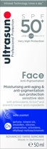 Ultrasun Face Anti-Pigment. SPF50 - 50 ml