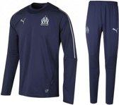 Puma Olympique Marseille trainingspak - Maat M - Kleur Navy