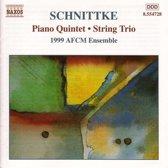 Schnittke: Piano Quintet, String Trio etc / 1999 AFCM Ensemble