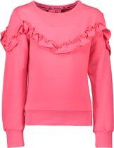 B.Nosy Meisjes Sweater - shocking roze - Maat 146/152
