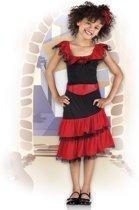 Kinderkostuum Spaanse Flamenco Beauty - 10-12 Jaar