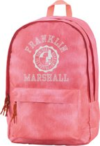 Franklin & Marshall Double Rugzak - Vintage Coral