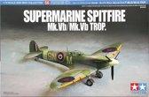 TAMIYA 1:72 Supermarine Spitfire Mk.Vb/Mk.Vb Trop
