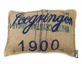 In The Mood Vintage Sierkussen - 1900 Blue Jute