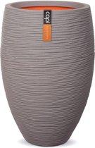 Capi - Vaas elegant deluxe rib NL 56x84 grijs