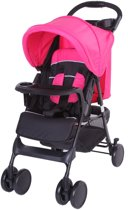 Bebies First - Buggy - Shopper - Zwart / Roze