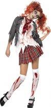 Halloween Zombie schoolmeisje kostuum 36-38 (s)