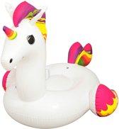 Zwemband / Luchtbed van 240cm XXL Opblaasbare Unicorn / Eenhoorn