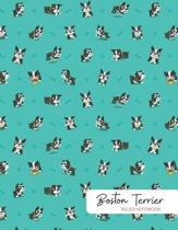 Boston Terrier Ruled Notebook