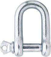 D-sluiting 500-05E handelsuitvoering verzinkt 5mm 8000.003.0105