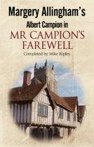 Mr Campion's Farewell