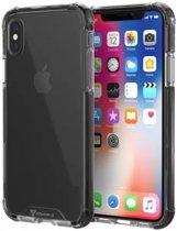 Armor X CBN-Series Apple iPhone XS/X Hybride Hoesje Transparant Zwart