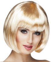 Pruik Cabaret - Blond