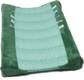 Snoozebaby Aankleedkussenhoes Happy Dressing (45 x 70cm) Forest Green